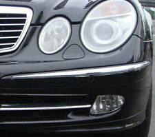 MERCEDES E CLASS W211  Chrome Front Bumper Trim 2002-2005
