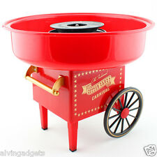 Vintage Electric Wagon Carnival Candy Floss Maker Cotton Candy Machine