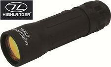 Highlander Telescope Monocular Travel Black Nothumberland Dales New