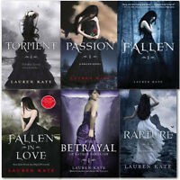 Lauren Kate Fallen Collection 6 Books Set Pack New,Rapture,Passion,Fallen,Tormen