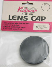 Kalimar 51mm Plastic Pressure Fit Lens Cap - Push-on Slip-On - NEW Old Stock D94