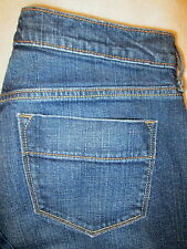 (*-*) Old Navy Sweetheart Jeans Denim Boot Cut Stretch Womens Size 4 R x 30 Mint
