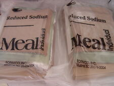 5 Meals MRE Emergency Survival Military Ration Food  5 Meals low sodium