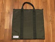CONVERSE X UNDEFEATED POORMANS WEAPON MA-1 HELMET BAG OLIVE NEW