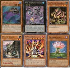Yugioh Lava Golem Swap Burn Deck - Acid Golem of Destruction, Silent Wobby