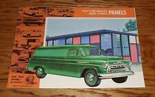 1957 Chevrolet Task-Force Panel Truck Sales Brochure 57 Chevy