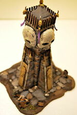 "WARHAMMER -WAR GAME- VAMPIRE COUNT scenary- skelton ""MAUSOLEUM"" PRO PAINTED"