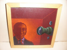 listed artist Roger Hane (1939-1974) oil on canvas painting photographer