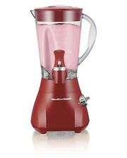 Hamilton Beach 500 Watt Wave Station Express Dispensing Countertop Blender, Red