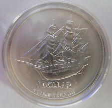 2014 Cook Islands Bounty 1 oz Troy Ounce .999 Silver Bullion Coin