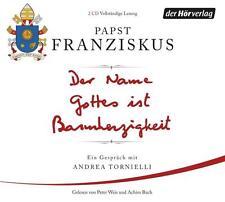 Der Name Gottes ist Barmherzigkeit: Ein Gespräch mit Andrea Tornielli CD Hörbuch