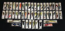 HUGE lot of 48 New in the Box Bass Trout Redfish Crappie Fishing Lures (48-5)