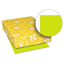 Neenah Paper Astrobrights Colored Card Stock 65 lb. 8-1/2 x 11 Terra Green 250