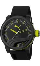 NEW PUMA PU103831003 MENS ULTIMATE SILICONE WATCH - 2 YEAR WARRANTY