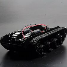 New 3- 6V 130 Motor Smart Car Tank Robot Chassis Platform DIY Shock Absorption