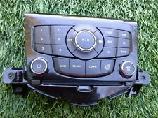 2011-2014 CHEVY CRUZE RADIO CD CONTROL PANEL FACE OEM SEE PHOTO