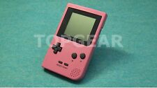 Nintendo Game Boy Pocket Console Pink new screen by TOPGEAR.jp