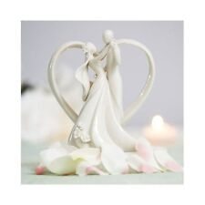 Heart Wedding Cake Toppers Arch Heart Bride and Groom Cake Toppers