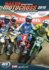 Maxxis ACU British Motocross Championship - Official review 2015 (New DVD) MX