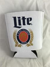 NEW Miller Lite Can Koozie Cooler Classic Logo Beer
