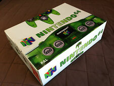 N64 Nintendo 64 Jungle Green Transparent PAL Game System Console Rare  BRAND NEW