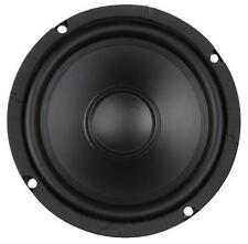"6-1/2"" Woofer Rubber Surround 4 Ohm 6.5"" Bass Replacement Speaker Poly Cone A+"