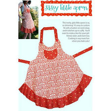 """CABBAGE ROSE """"SASSY LITTLE APRON"""" Sewing Pattern"""