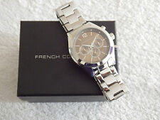 French Connection FCUK FC1144TM Men's Multi Dial Stainless Steel Watch - NEW