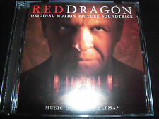 Red Dragon Original Movie Soundtrack CD BY Danny Elfman – Like New