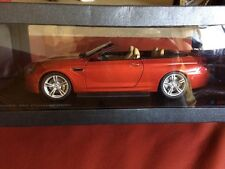 BMW M6 Convertible F12 1:18 scale Model Miniature Car Orange 80432253655  OEM