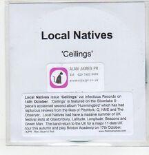 (ER659) Local Natives, Ceilings - DJ CD