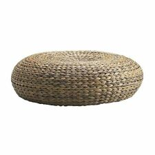 ALSEDA Stool FootStool Ottomans,Banana Fibre,18cm x 60 cm,In/Outdoor,Ethnic Feel