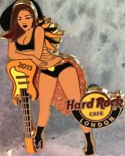Hard Rock Cafe LONDON 2013 BURLESQUE Girl Series PIN Guitar LE 400 - HRC #73173