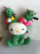 Hello Kitty X tokidoki Plush Cactus With Free Sticker 15cm 6inch