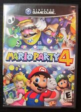 Mario Party 4 (Nintendo GameCube, 2002) COMPLETE Multi-Player Video Game *WORKS*