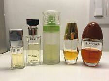 LOT 5 PERFUME: O Lancome  BEAUTIFUL Estee Lauder ETERNITY OBSESSION Calvin Klein