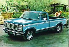 1980 FORD PickUp Truck Brochure / Catalog: F-100,150,250,350,SUPERCAB,RANGER XLT
