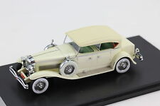 Duesenberg Model J Tourster Derham 1930 Light Beige  Resin 1:43 NEO 45941