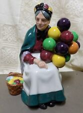 """VINTAGE ROYAL DOULTON FIGURINE~""""THE OLD BALLOON SELLER""""~H.N.1315~ENGLAND~LADY"""