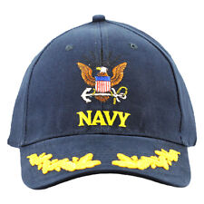US Navy Embroidered Military Cap With Scrambled Eggs
