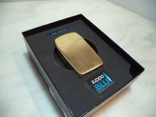 ZIPPO LIGHTER FEUERZEUG BLU VERTICAL GOLD A GAS BUTANO RICARICABILE NEW