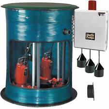 """Liberty Pumps D3648LSG202  - 2 HP D3648 Duplex Grinder Pump System (36""""x48"""" -..."""