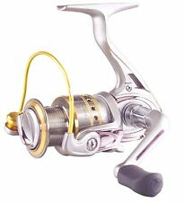 Tica GAA Spinning Reel 7RRB+1RB ~ Gold/Silver GAA2500 ~ New ~ Free Shipping