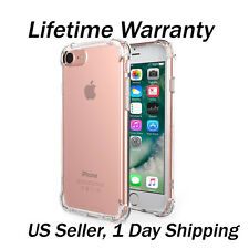 """For Apple iPhone 7 Plus 5.5"""" Case Silicone Clear Cover Bumper Rubber Protective"""