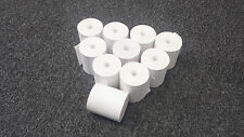 """3-1/8"""" x 230' THERMAL PoS RECEIPT PAPER - 12 NEW ROLLS  ** FREE SHIPPING **"""