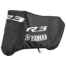 Yamaha YZF-R3 Sport Bike Motorcycle Cover in Black-Fits 2015 & 2016-Brand New