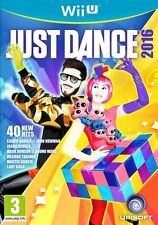 Just Dance 2016 WII U BRAND NEW SEALED UK OFFICIAL