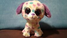 """Ty - Beanie Boos - 6"""" - Darling the Dog - 2012 - Justice Exclusive no hang tag"""