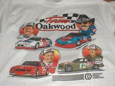 Oakwood Homes Nascar Richard Petty Neil Bonnett Vintage NEW 1989 T-shirt M/L Med