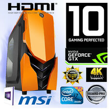 Gamer PC Intel I7 6700K 4x4,20Ghz-16GB-Nvidia GTX1060 6GB Gaming-Windows10-N1